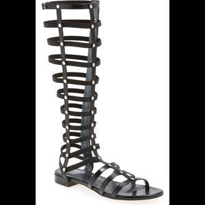 Stuart Weitzman Gladiator  High Knees Sandals